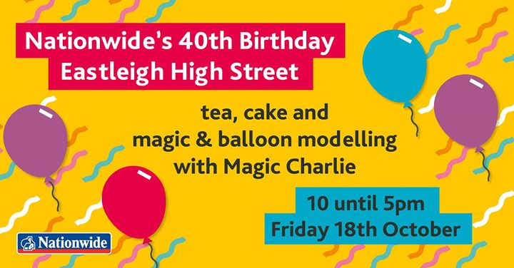 Eastleigh Nationwide's 40th Birthday